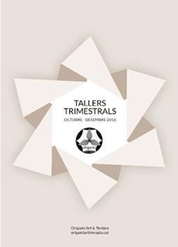 Tallers d'Origami Art & Teràpia per grups octubre-desembre 2016