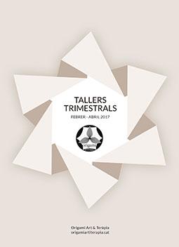 Tallers d'Origami Art & Teràpia per grups febrer-abril 2017