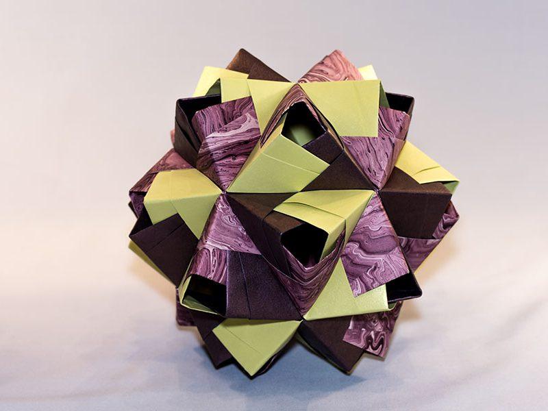 Icosaedre traforato Aichi verd